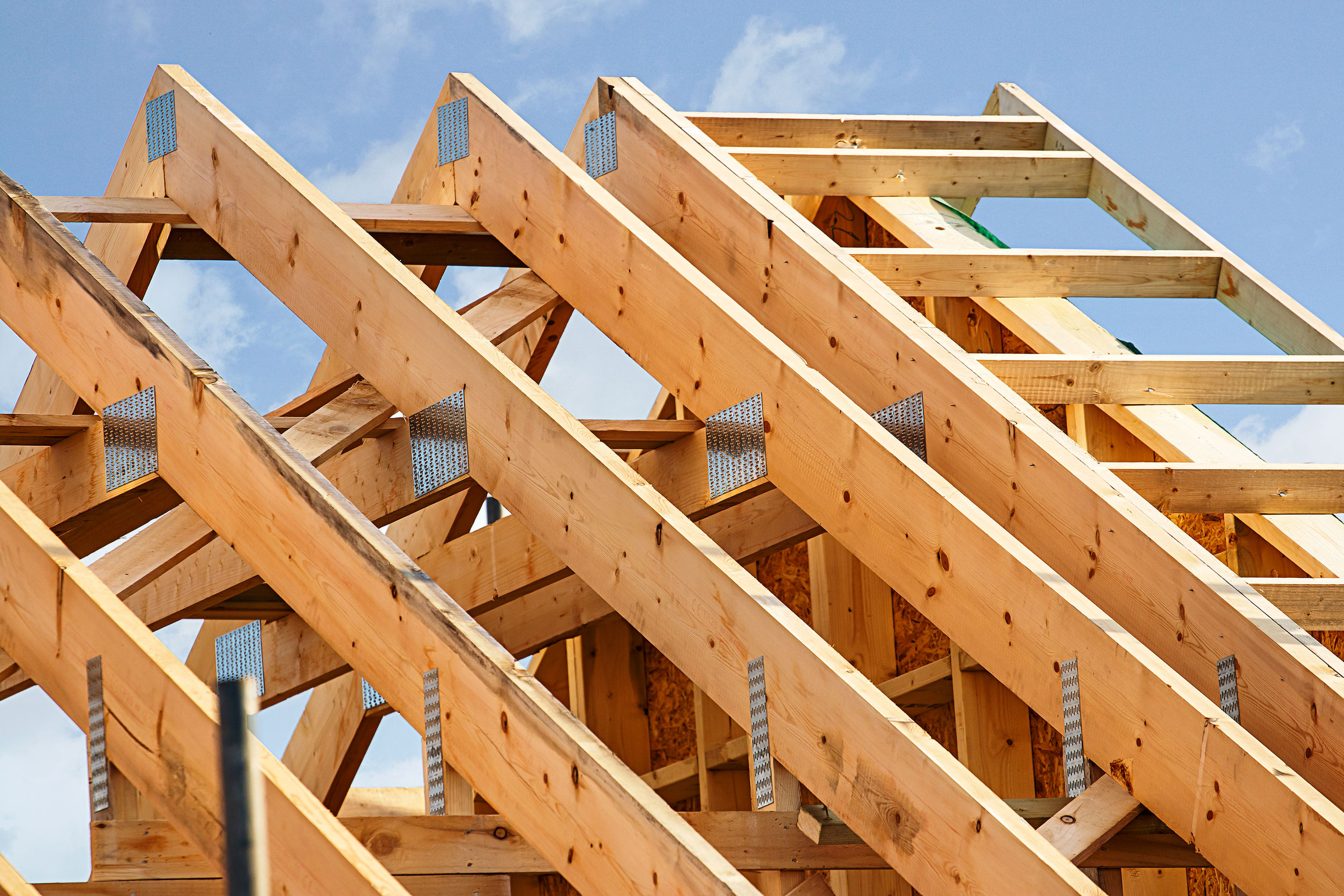 Standard timber frame roof structure
