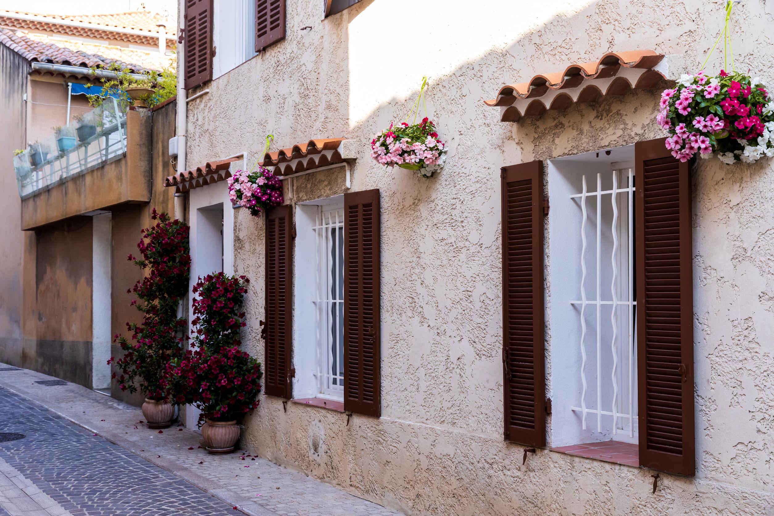 mur en crépi, crépi de façade extérieure